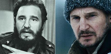 Fan keu goi sao 'Taken' dong phim ve lanh tu Fidel Castro - Anh 1
