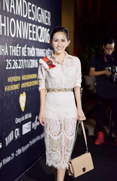 Tram Nguyen noi bat tai Vietnam Designer Fashion Week 2016 - Anh 1