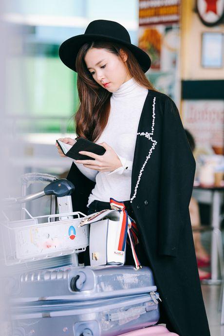 Midu, Trang Moon sanh dieu o san bay, sang Han du su kien - Anh 2