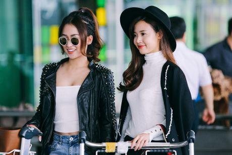 Midu, Trang Moon sanh dieu o san bay, sang Han du su kien - Anh 6