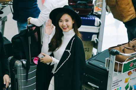 Midu, Trang Moon sanh dieu o san bay, sang Han du su kien - Anh 7