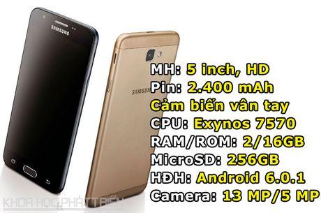 Samsung cong bo gia ban Galaxy J5 Prime tai Viet Nam - Anh 1