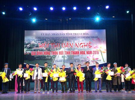 Thanh Hoa: Han hoan Hoi thi Van nghe gia dinh nong thon moi - Anh 1