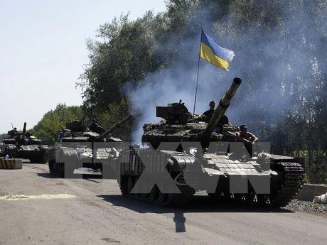 Quoc hoi My du kien vien tro quan su 350 trieu USD cho Ukraine - Anh 1