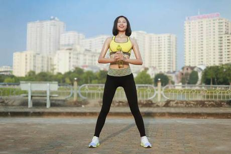 Nguoi dep Dao Thi Ha luyen dang sexy ma chang can gym - Anh 13