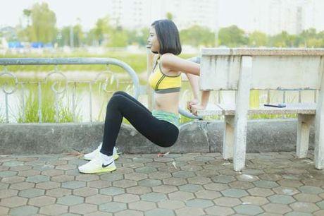 Nguoi dep Dao Thi Ha luyen dang sexy ma chang can gym - Anh 2