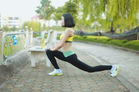 Nguoi dep Dao Thi Ha luyen dang sexy ma chang can gym - Anh 3