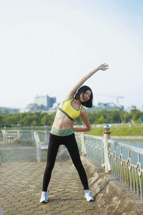 Nguoi dep Dao Thi Ha luyen dang sexy ma chang can gym - Anh 7