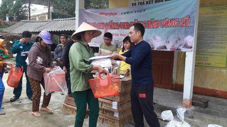Bao NTNN/ Dan Viet: Ho tro con giong cho ba con vung ron lu - Anh 2