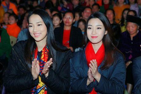 Du mac gian di, hoa hau My Linh van dep 'don tim' - Anh 2