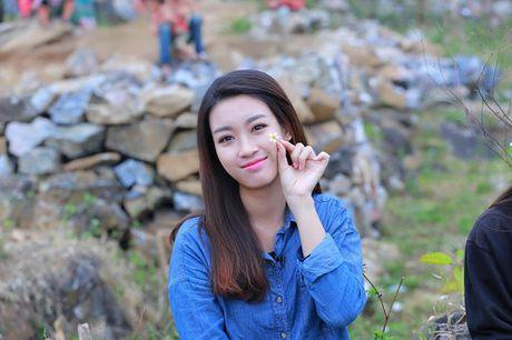 Du mac gian di, hoa hau My Linh van dep 'don tim' - Anh 5