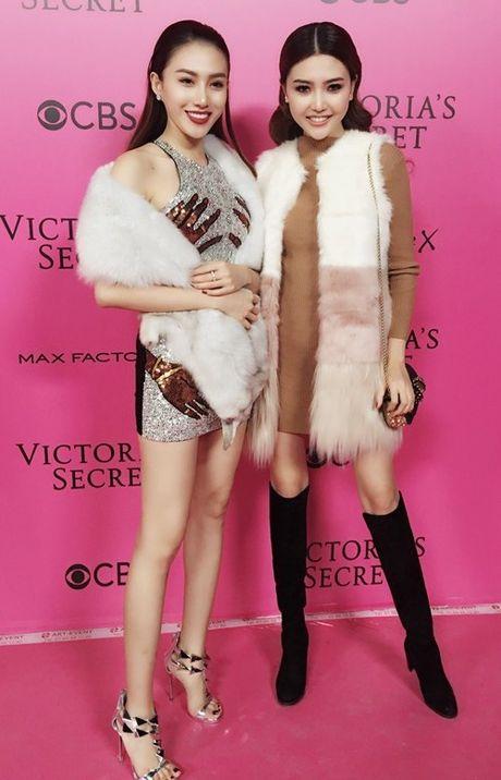 Ngoc Duyen - Le Ha mac sanh dieu, dot nhap hau truong Victoria's Secret - Anh 6