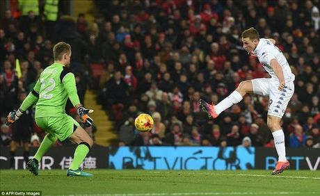 Liverpool 2-0 Leeds Utd: Jurgen Klopp lai ghi diem - Anh 2