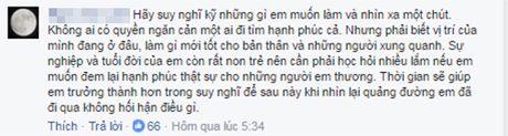 Fan tranh cai viec Hoai Lam muon cuoi vo o tuoi 21 - Anh 2