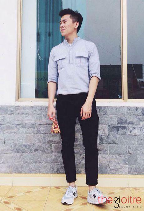 Thoi trang 'chat dung hoi' cua SV Hoc vien Tai chinh - Anh 4