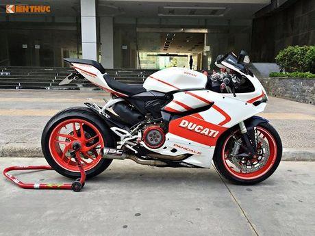 Dan choi Ha Noi chi 140 trieu dong do Ducati 899 Panigale - Anh 1