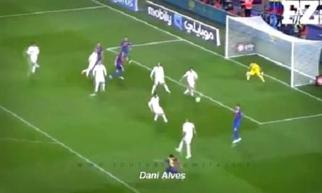 10 ban thang dep nhat lich su doi dau Barcelona va Real Madrid - Anh 1