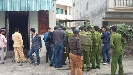Hai Phong: Cong an no sung vay bat ke om binh gas co thu - Anh 1
