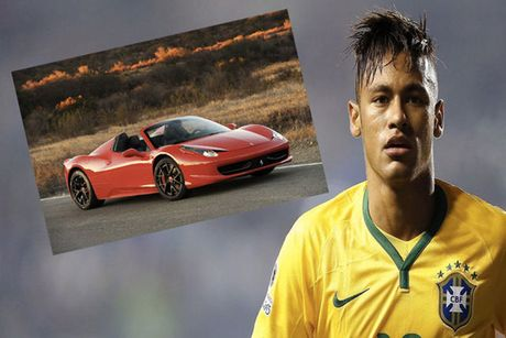 Sieu xe Ferrari 458 Spider cua tien dao Neymar gap nan - Anh 2