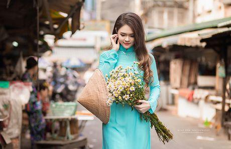 Cuc hoa mi Ha Noi khoe sac ben thieu nu Sai Gon - Anh 8