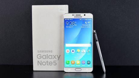 Samsung cap nhat tinh nang cua Note7 len Galaxy Note5 - Anh 1