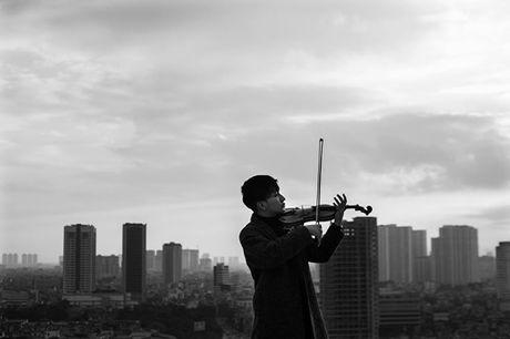 Hoang Rob thuc hien live concert dau tien cua nghe si violin tai Viet Nam - Anh 1