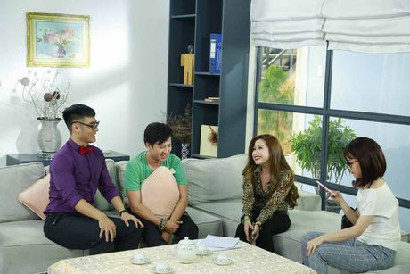 He lo hinh anh hau truong sitcom moi Xin chao ong chu - Anh 4