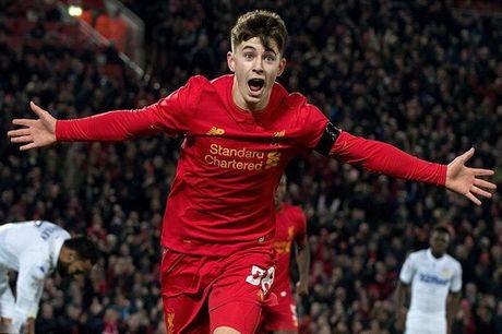 Sao tre toa sang, Liverpool lap ky luc o League Cup - Anh 2