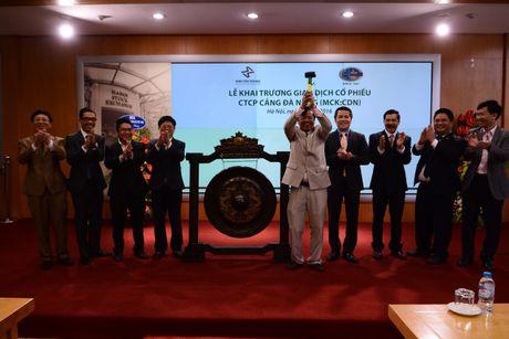 66 trieu co phieu cua CTCP Cang Da Nang niem yet tren HNX - Anh 1
