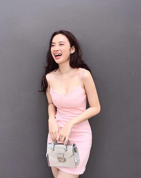 Mau hong 'banh beo' len ngoi cung sao Viet trong mua le hoi - Anh 3