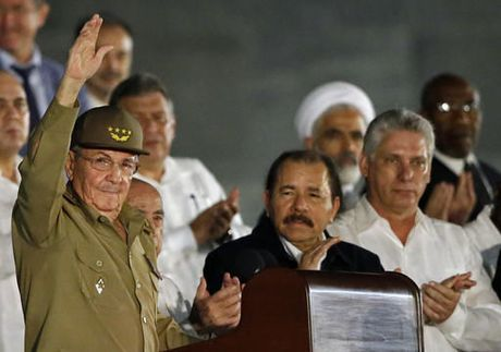 Lanh dao the gioi hoa cung bien nguoi tuong niem ong Fidel Castro - Anh 4