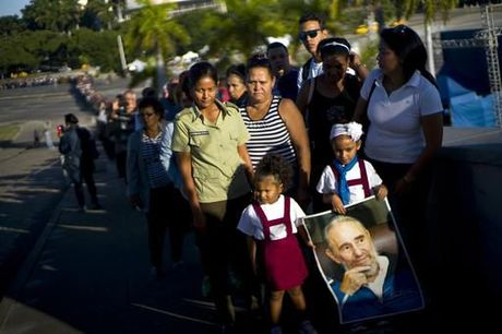 Lanh dao the gioi hoa cung bien nguoi tuong niem ong Fidel Castro - Anh 5