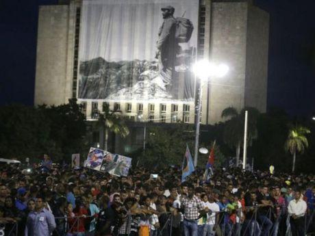 Lanh dao the gioi hoa cung bien nguoi tuong niem ong Fidel Castro - Anh 6