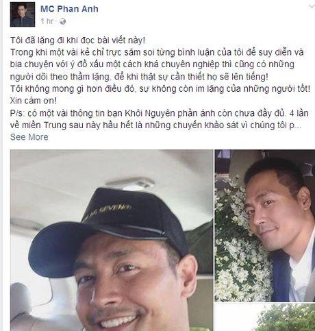 Tam su cua MC Phan Anh sau khi mo tai khoan facebook - Anh 2