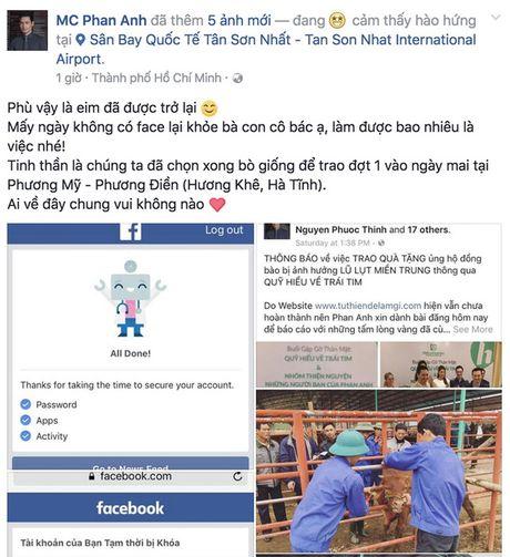 Tam su cua MC Phan Anh sau khi mo tai khoan facebook - Anh 3