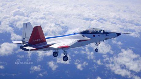Chien dau co noi dia Nhat bay luon cung tiem kich F-16 - Anh 1
