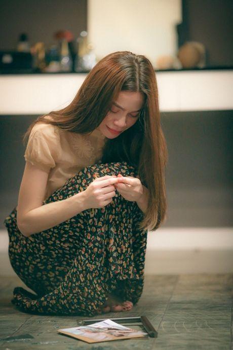 Ho Ngoc Ha khoc nghen ngao trong phan cuoi phim ngan 'Gui nguoi yeu cu' - Anh 1