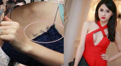 Huong Giang Idol chi trich Hoa Minzy vi hinh xam tren nguc - Anh 1