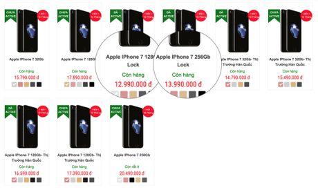 iPhone 7 lock do bo ve Viet Nam gia 13-15 trieu - Anh 4
