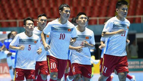 Futsal Viet Nam chot danh sach tham du giai futsal quoc te CFA 2016 - Anh 1