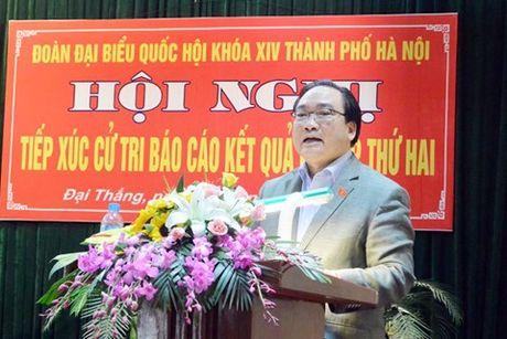 Bi thu Hoang Trung Hai: Su ung ho cua nguoi dan co y nghia quyet dinh - Anh 1
