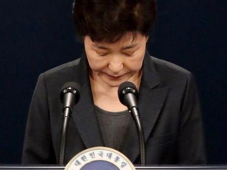 Tong thong Han Quoc Park Geun-hye buong xuoi so phan? - Anh 1