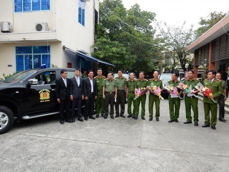Da Nang dau tu 56 o to chuyen dung cho cong an cac phuong, xa - Anh 2