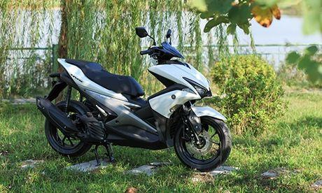 Yamaha NVX mo canh tranh Honda SH moi tai Viet Nam - Anh 1