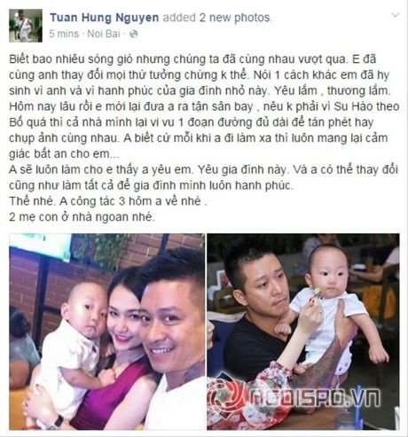 Ganh ty voi nhung khoanh khac cham con 'gioi hon ca vo' cua Tuan Hung - Anh 18