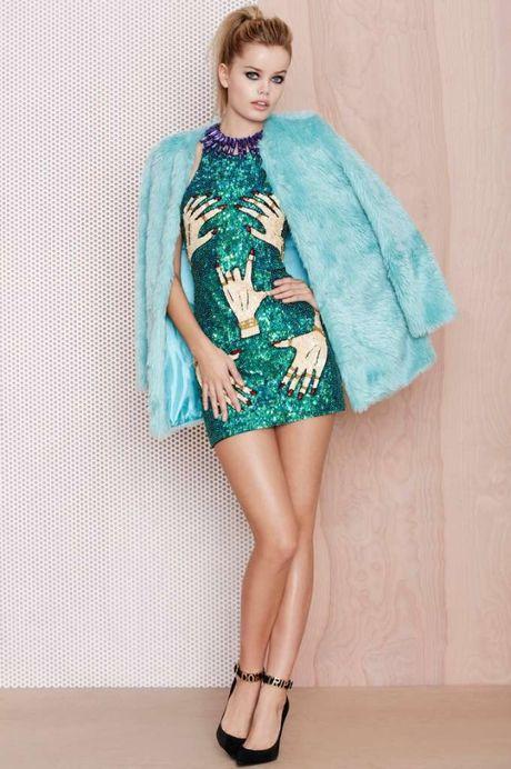Le Ha dien vay sieu an tuong tai tham do Victoria's Secret show truoc gio G - Anh 5
