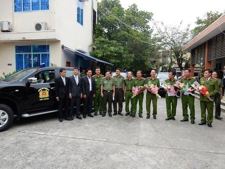 Da Nang chi tien ti mua oto, xe may cho cong an phuong - Anh 1