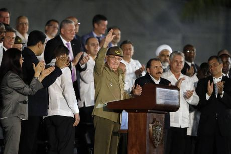 Lanh dao quoc te tuong niem Chu tich Fidel Castro - Anh 5