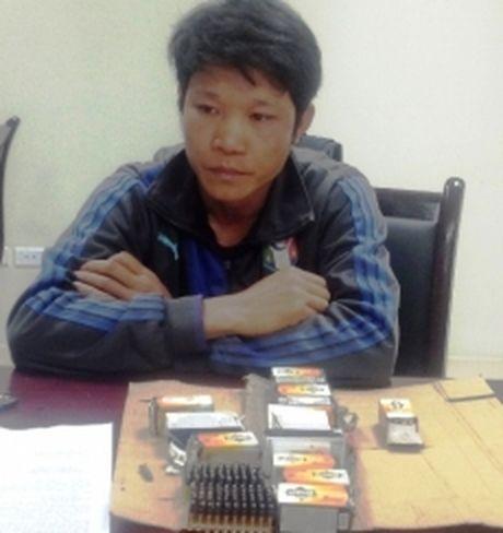 Quang Binh bat doi tuong van chuyen 700 vien dan qua bien gioi - Anh 1