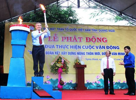 Quang Ngai: Phat dong CVD 'Toan dan doan ket xay dung nong thon moi, do thi van minh' - Anh 1
